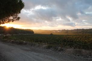 Chemin lever de soleil